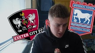 Exeter City vs Ipswich Town 14th August 2018 (MATCH PREVIEW)