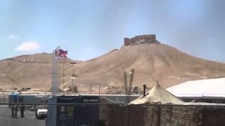تدمر :: روسيا تقيم قاعدة عسكرية في الحرم الأثري في المدينة.