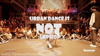 hiphop dancing