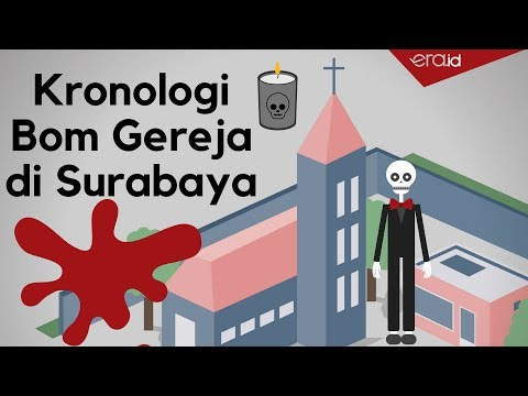 Kronologi Bom di Tiga Gereja Surabaya - By Era.Id