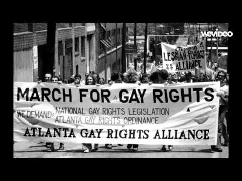 Gay Rights Movement in the 1960s to now