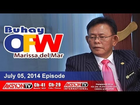 July 05, 2014 - Buhay OFW with Marissa del Mar - Episode 146