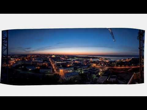 Краткий пример обработки панорам Фото проект Панорамы Чебоксар 21foto.ru