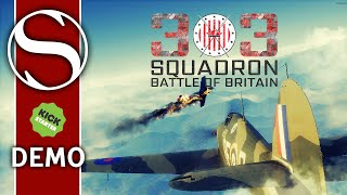 Kickstarter Demo - 303 Squadron Battle of Britain - 303 Squadron Battle of Britain Gameplay