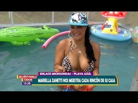 Cuéntamelo Todo 27-02-17 Mariella Zanetti nos muestra su casa de playa