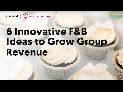 6 Hotel Food & Beverage Ideas to Drive More Group Revenue