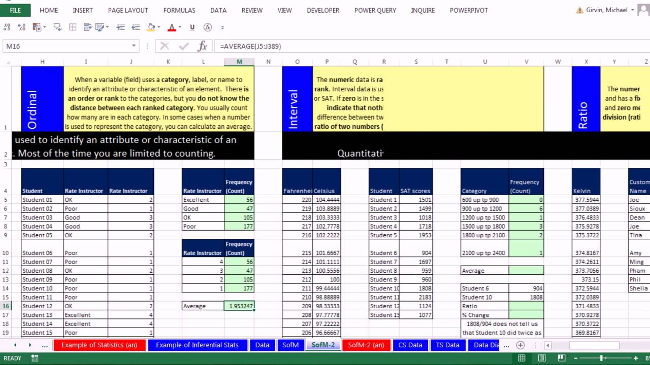 quantitative statistical analysis Planningquantitative data analysis conducting quantitative data analysis  for the basic statistical methods describedin this brief, you can use spreadsheets or.