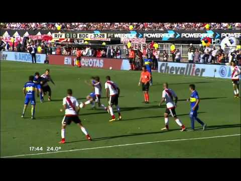 River Plate 0 - 0 Boca Juniors - Fecha 6 Torneo de Transición 2016