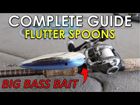 When, Where, And How To Fish Flutter Spoons For Summer Bass