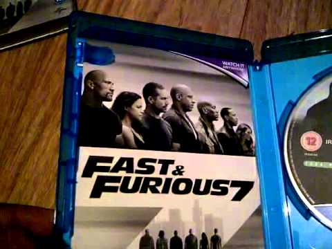 a look at fast and furious 7 bluray