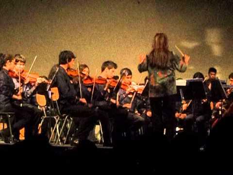 Orquestra Juvenil LEA/ Quinto Congreso de Jóvenes Músicos/ Antofagasta-Chile- 2012.