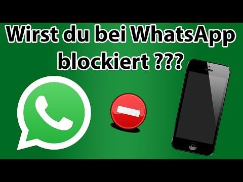 So siehst du ob du bei WhatsApp blockiert wirst! Sichere Methode