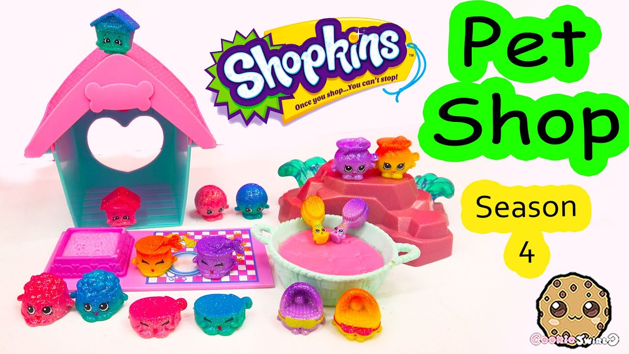 Shopkins Season 4 Pet Shop Full Collection Tour Ultra Rare