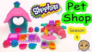 Shopkins Season 4 PET SHOP Full Collection Tour Ultra Rare PetShop Toys Video - Cookieswirlc(Full Collection of the Shopkins Season 4 Pet Shop team in beautiful ombre colors and shimmy glitter finish. Moose Toys sent me this set of Shopkins to review ..., 2015-12-14T21:11:06.000Z)