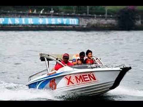 serunya-naik-speed-boat-di-telaga-sarangan-magetan-jawa-timur