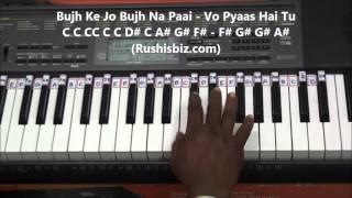 Tu Meri Zindagi Hai Piano Tutorials - Aashiqui (old)