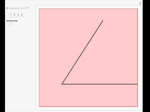 Bisecting an Angle with a Two-Edged Ruler