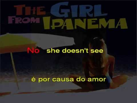 The Girl From Ipanema lyrics
