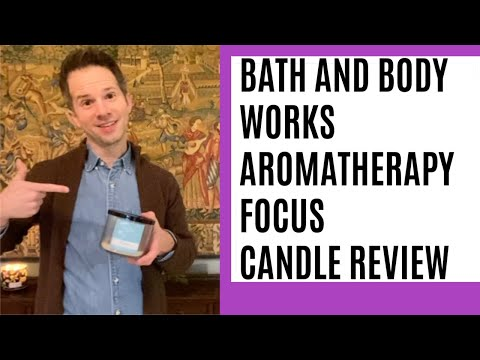 Bath and Body Works Aromatherapy Focus Candle Review