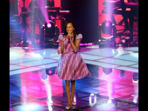 Nicole Luz canta 'Soul de Verão' no The Voice Kids - Shows ao Vivo | Temporda 1