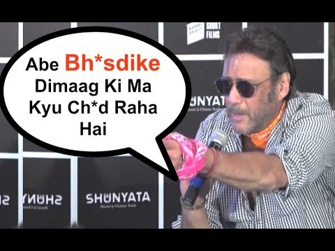 Jackie Shroff FUNNY Abuse Is Sure To Tickle Your Bones | WAT