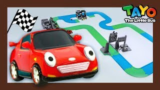 Race car SPEED l What does race car do? l Tayo Job Adventure S2 l Tayo the Little Bus