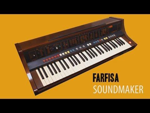 FARFISA SOUNDMAKER Analog Synthesizer 1979 | HD DEMO