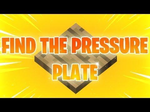 Find The pressure plate [TRAILER]