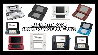 All Nintendo DS Commercials (2004 - 2017)