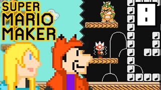 EXPERT LEVELS ARE THE DEVIL! (100 LIVES EXPERT CHALLENGE) | Super Mario Maker #8