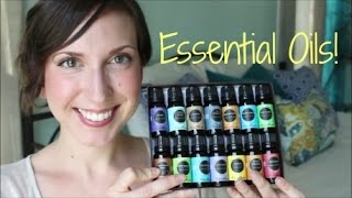 Essential Oils Unboxing // Eden