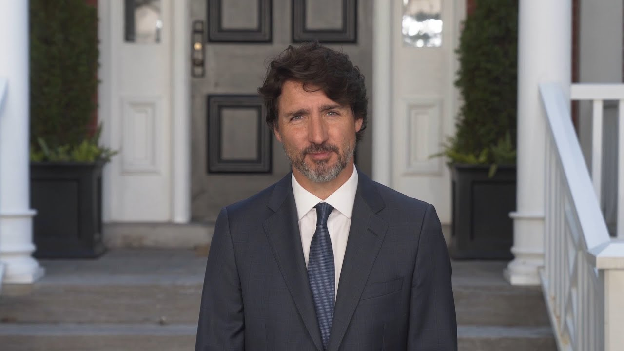 Prime Minister Trudeau delivers a message on Eid al-Adha