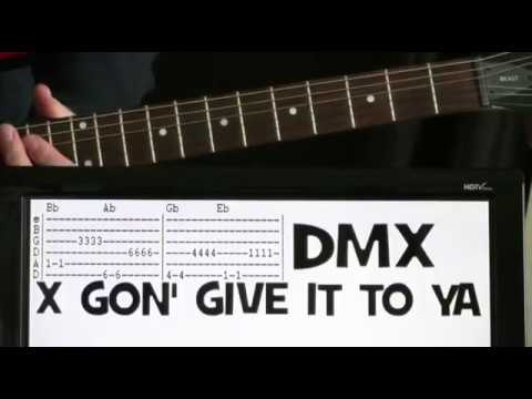 DMX X Gon' Give It To Ya Guitar Chords Lesson with Tab