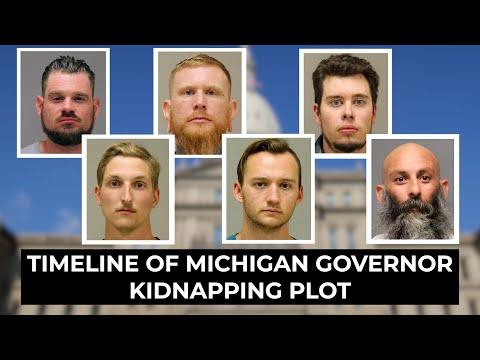 FBI's Timeline of Plot to Kidnap Governor Whitmer