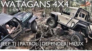 Watagans 4x4 | 4wd |Jeep TJ | Defender | Hilux | Patrol [2018] ALLOFFROAD#141