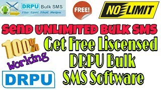 How To Send Unlimited Bulk SMS Through Software [DRPU FULLY ...