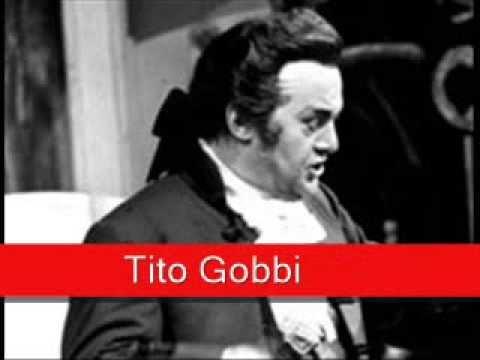 Tito Gobbi: Mozart - Le Nozze di Figaro,