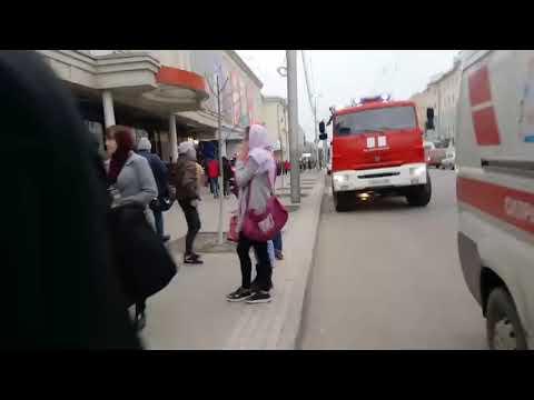 Пожар в ТЦ «Пассаж»