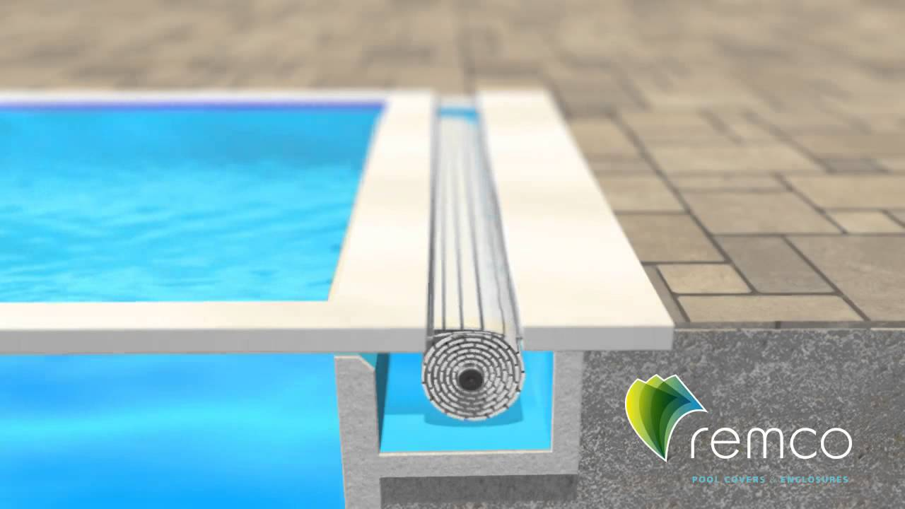 Remco Pool Covers Swimroll Below Ground Automatic Pool Cover Youtube