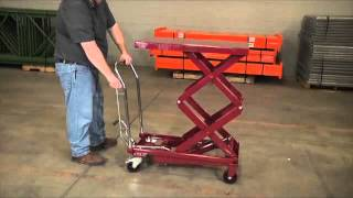 Northern Industrial Hydraulic Lift Table 770-lb. Capacity