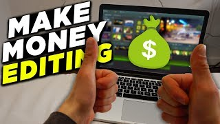 How To Make Money Video Editing Online! (Make Money Freelance Editing)