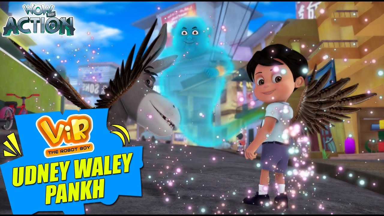 Download Vir The Robot Boy | Udney Waley Pankh | New Episodes | Wow Kidz Action