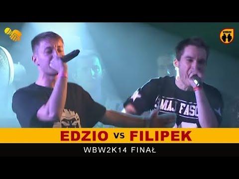 EDZIO vs FILIPEK 🎤 WBW 2014 🎤 Finał XII Edycji (1/2) Freestyle Battle