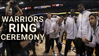 NBA in VR - Warriors Ring Ceremony VR Preview | NextVR