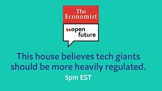 Should tech giants be more heavily regulated? A live debate from Dartmouth College
