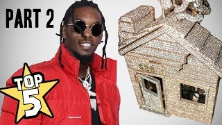 TOP 5 | RAPPER CHAINS OF 2018 PART 2 ( Offset, Kodak Black, Trippie Redd )
