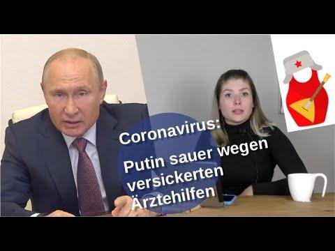 Coronavirus: Putin sauer wegen versickerter Ärztehilfe