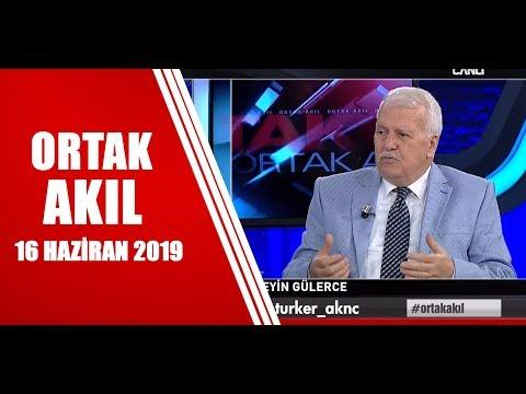 Ortak Akıl 16 Haziran 2019