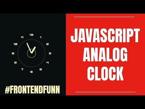 Javascript Analog Clock thumbnail