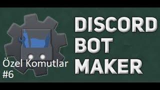 Basit Destek Komutu | Discord Bot Maker Özel Komutlar Komutları #6